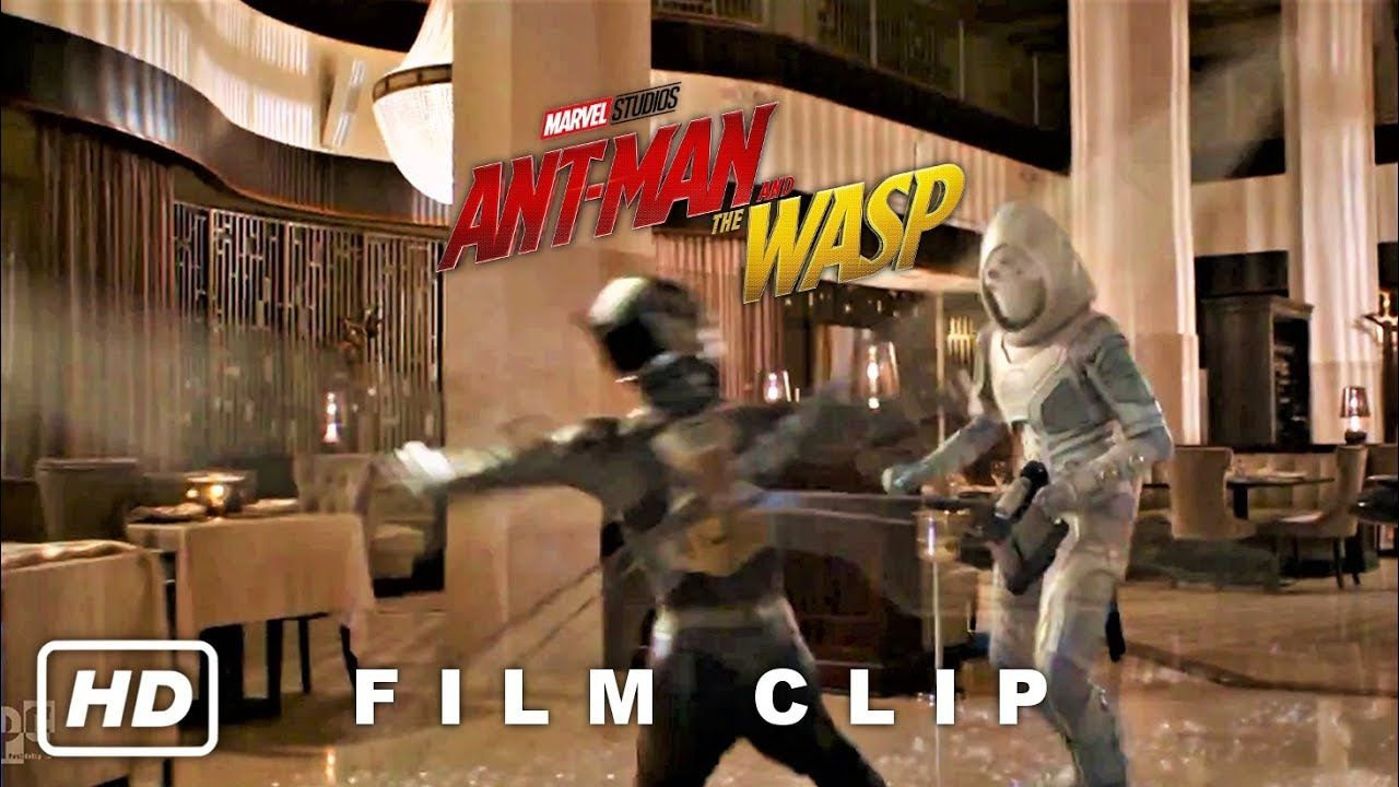 Wasp Vs. Ghost - Ant-Man and Wasp