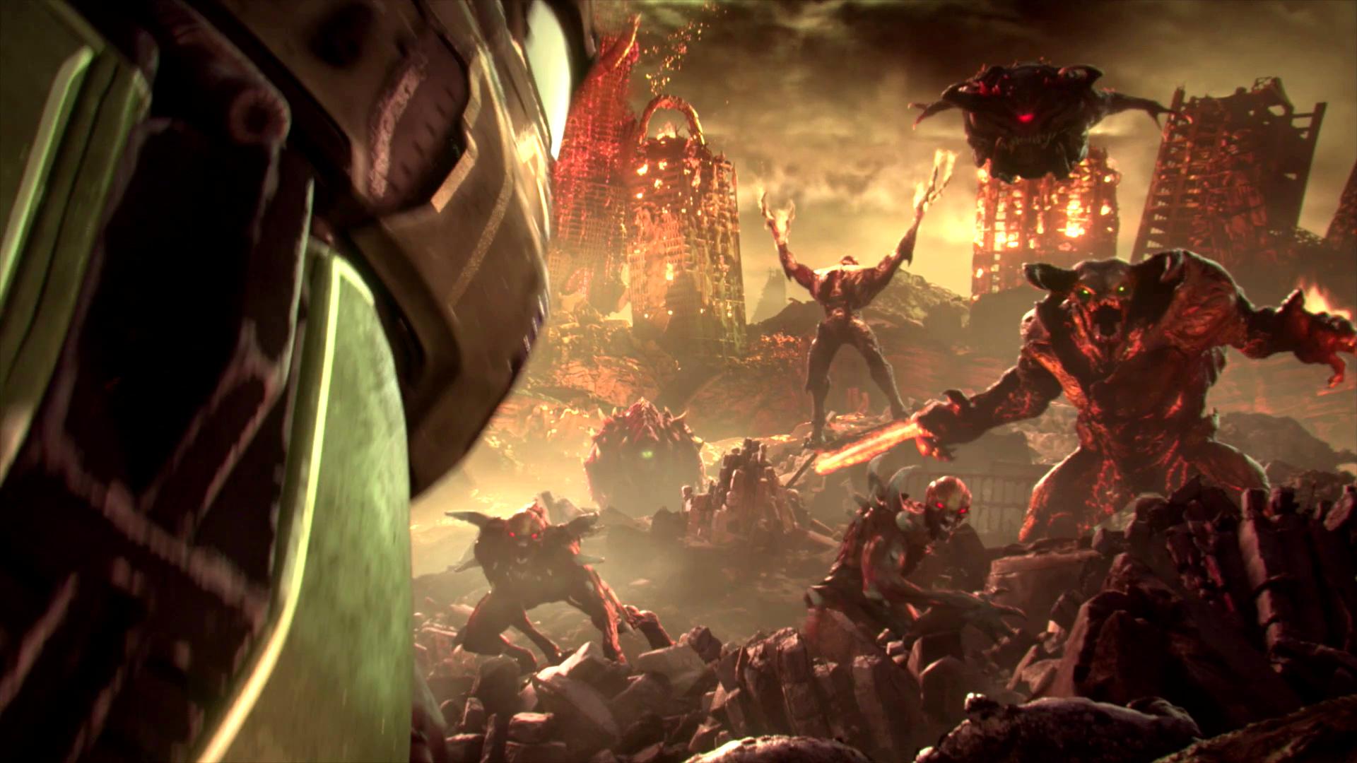 Doom Eternal Official E3 2018 Teaser Trailer Hd Doom Eternity Wallpaper