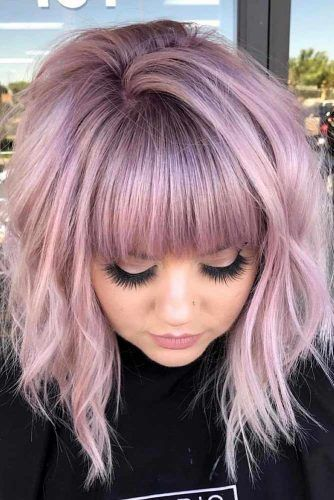 50 Nice and Flattering Hairstyles With Bangs | Lov