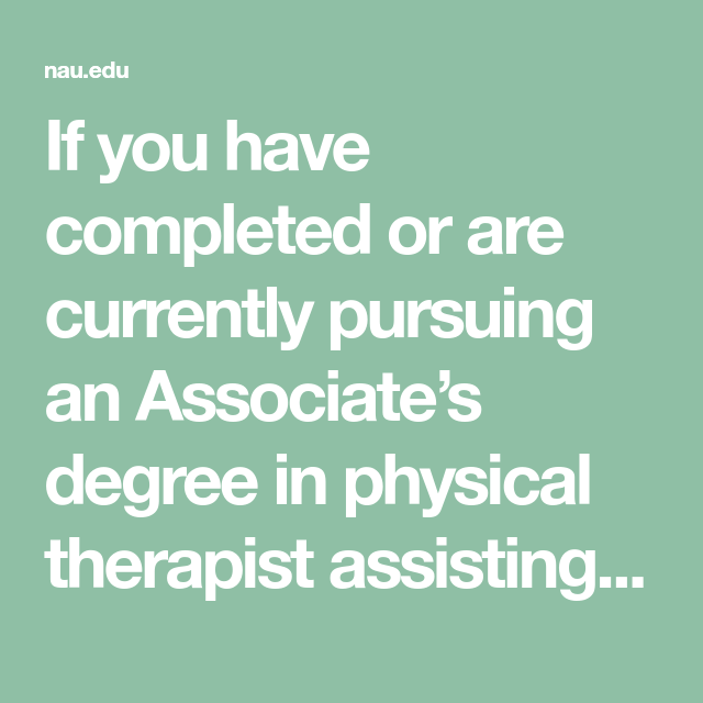 If you have completed or are currently pursuing an ...
