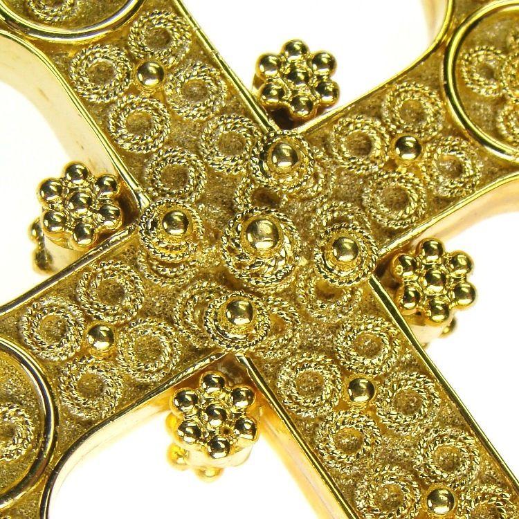 Renaissance Western Cross 18k gold Renaissance and Westerns