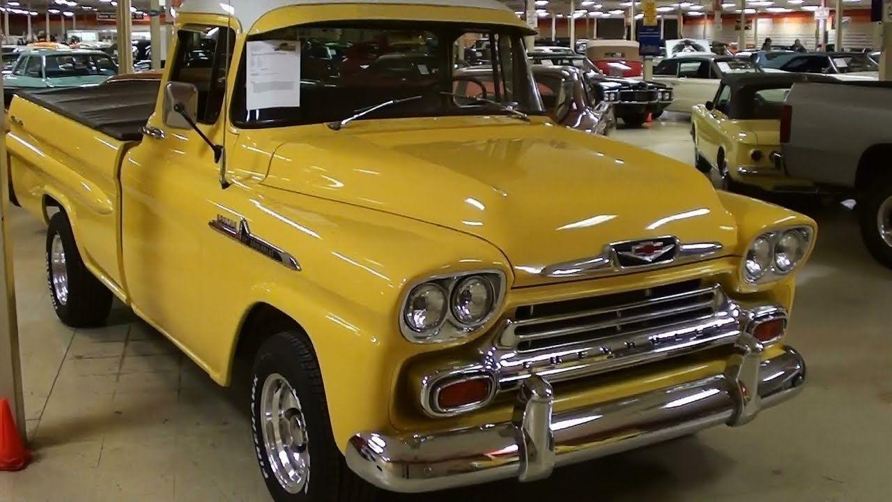 1958 Chevrolet Apache Pickup Chevrolet Apache Chevy S10 57