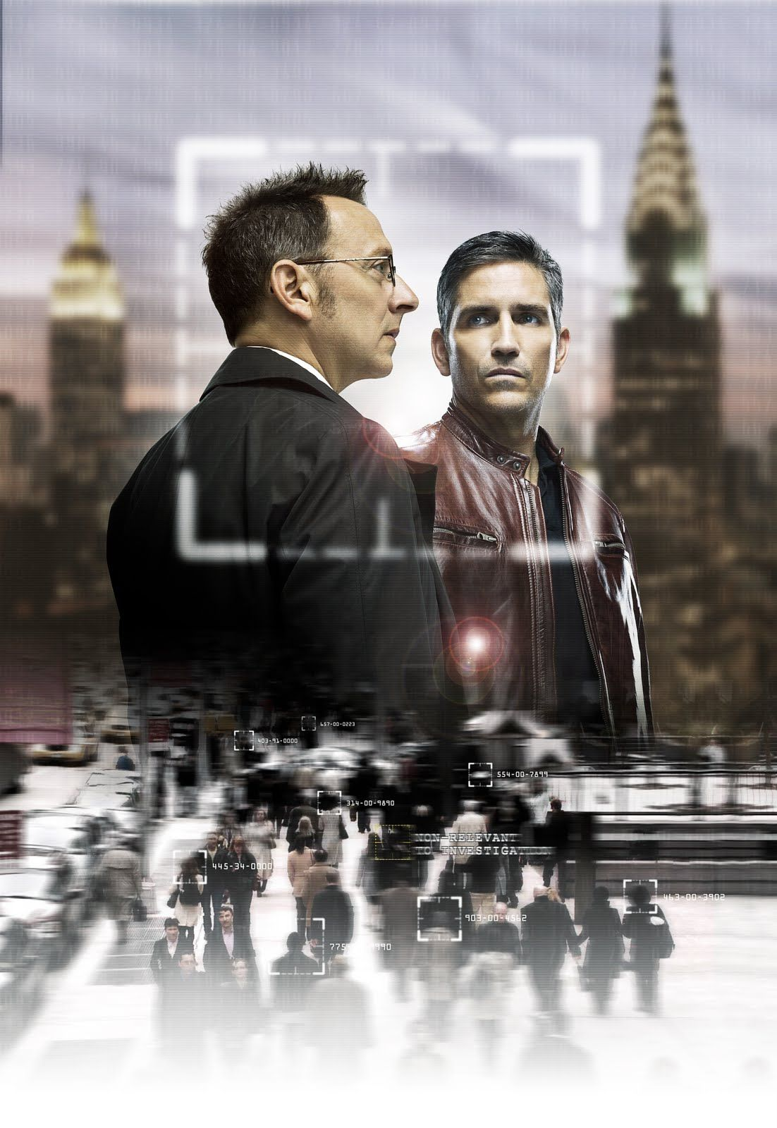 Person of Interest - A software genius and an ex-CIA operative work together to prevent violent crimes before they can happen.