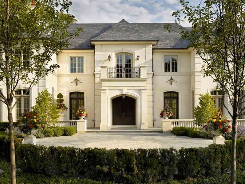 Image Result For Windows French Country One Story Houses French Chateau Homes French Country House Plans French Country House