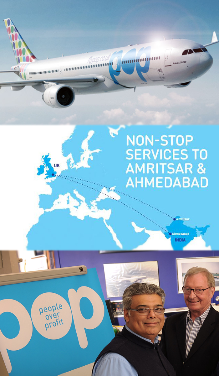 StartUp Airline POP to be a White Elephant for UKIndia