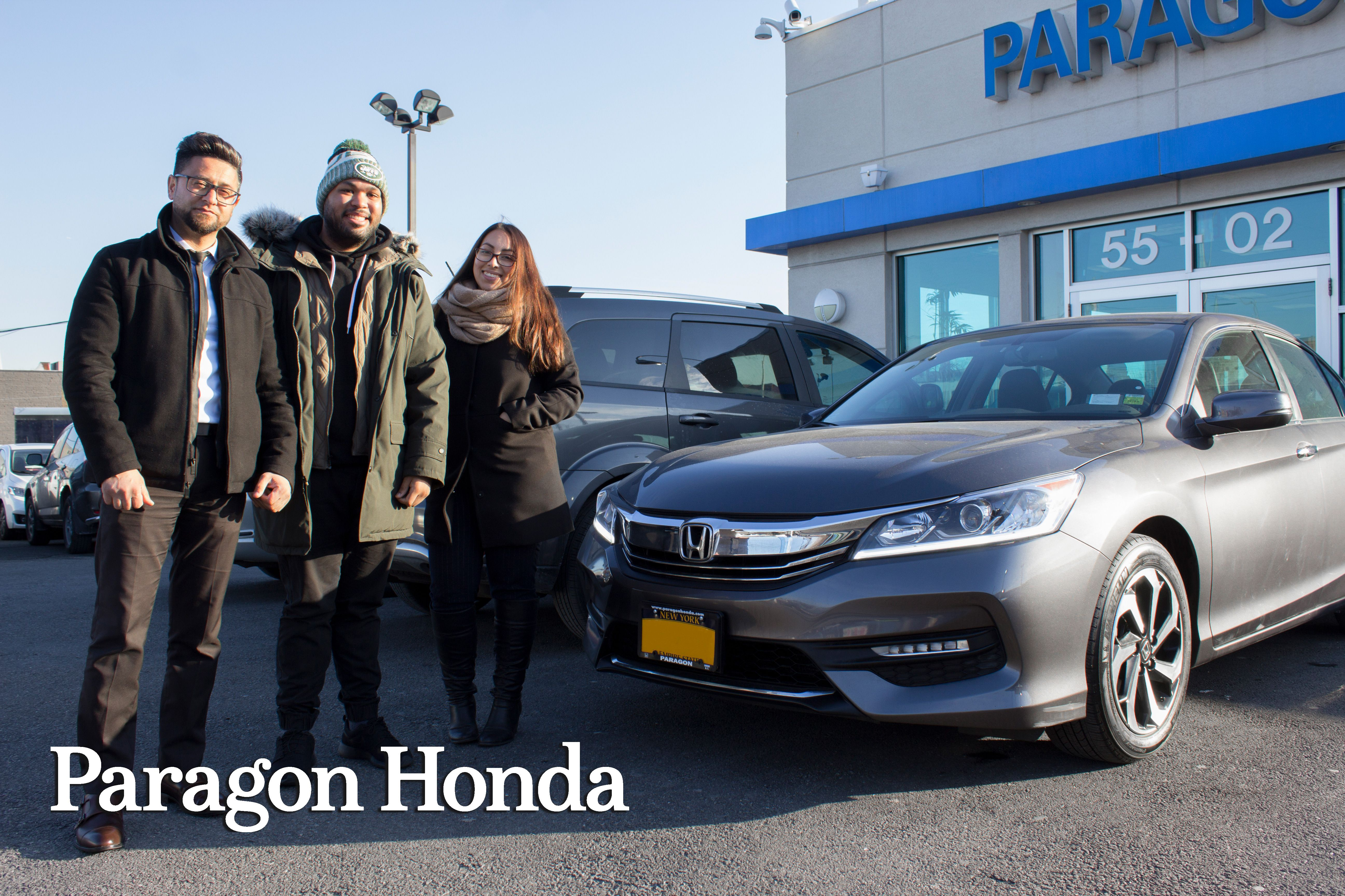 Enjoy Your New 2017 #HondaAccord, Jordan! Another Happy Customer With  Sultan Haseq At #paragonhonda
