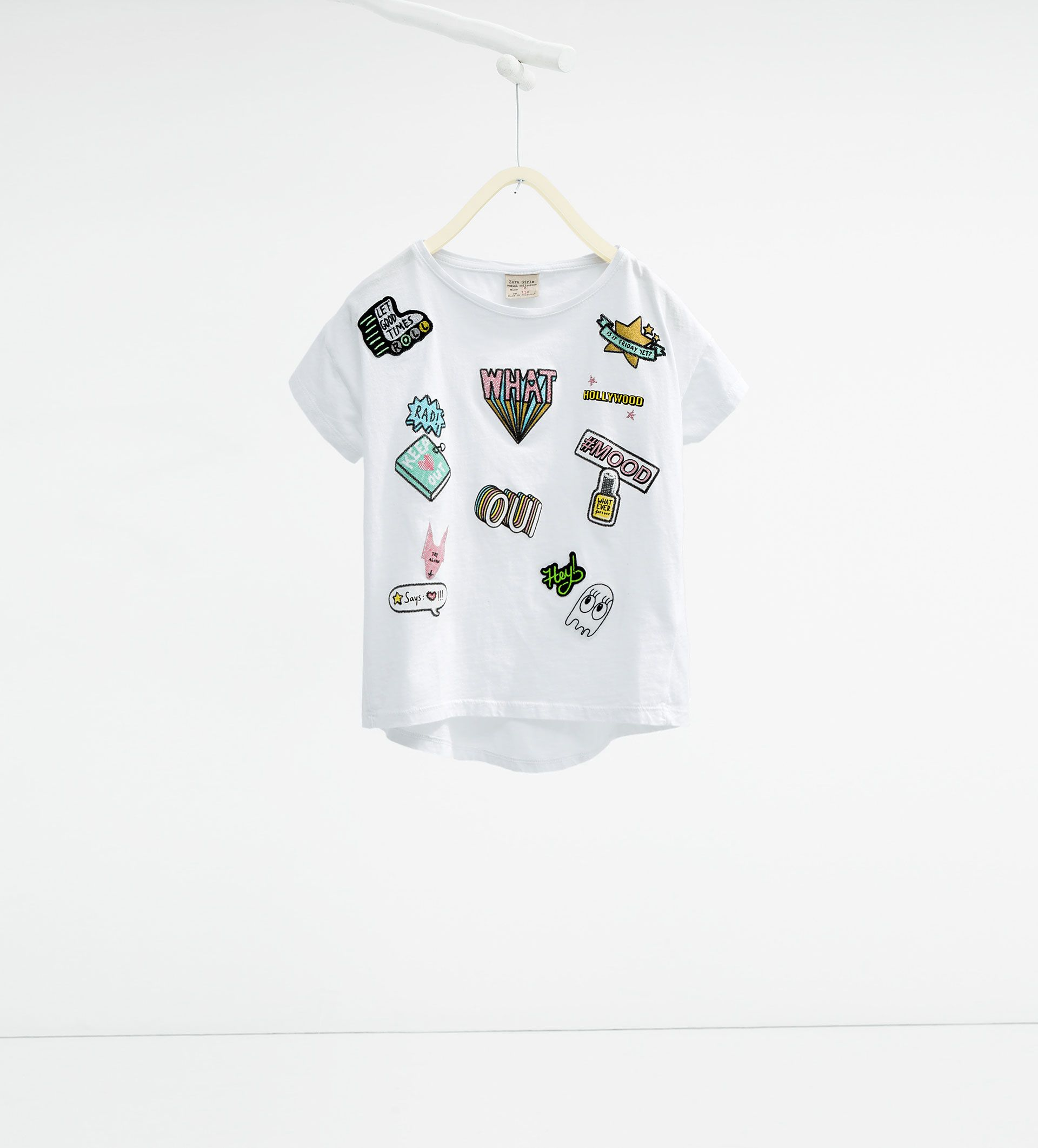 654bb66dfd2 Patches T - shirt - View All - T - SHIRTS - GIRL