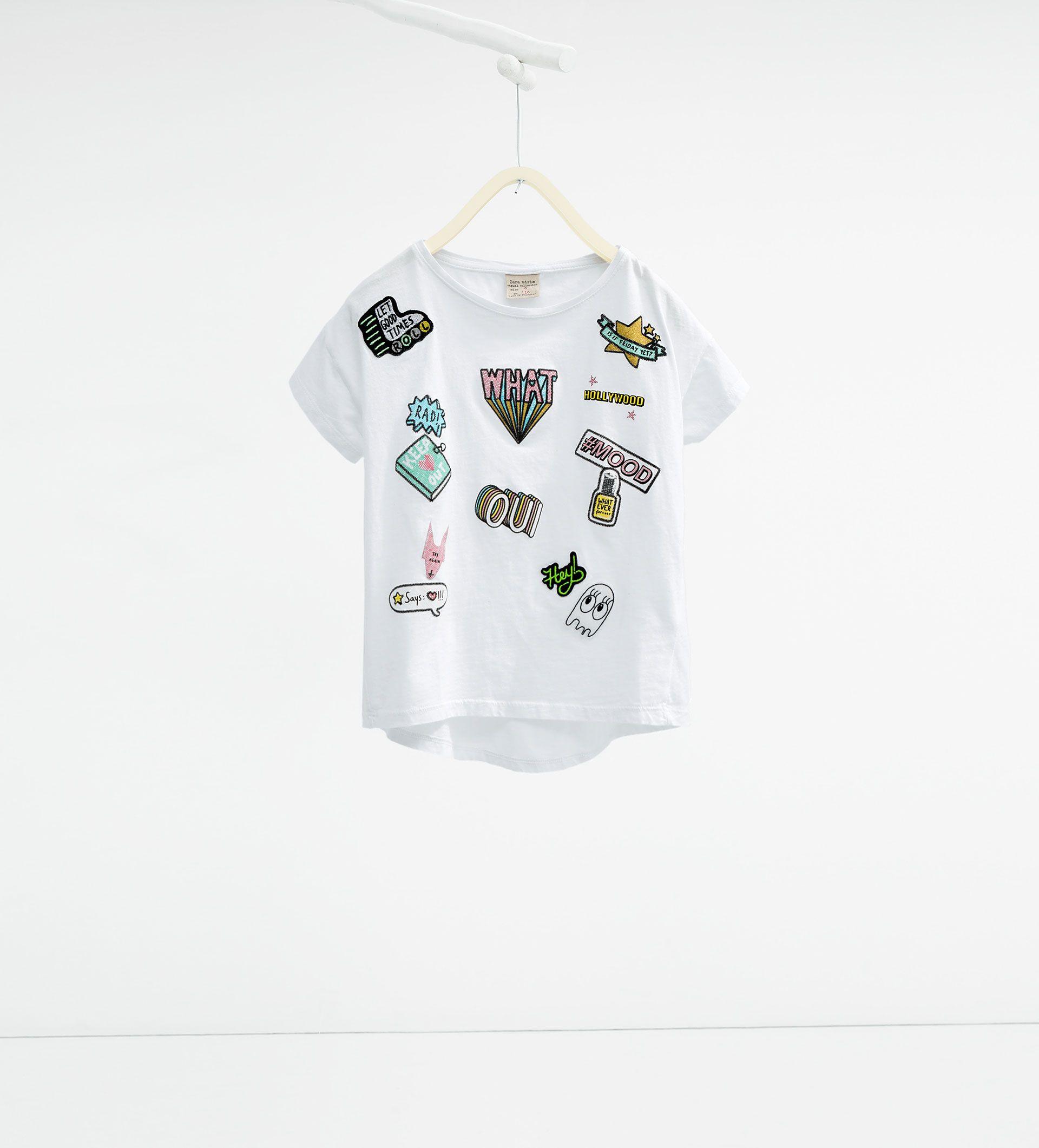 T - shirt à empiècements - Tout Afficher
