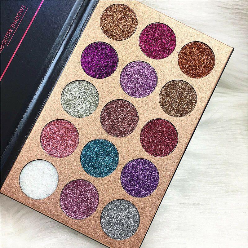 Newest BEAUTY GLAZED Eyeshadow palette Shimmer/Matte