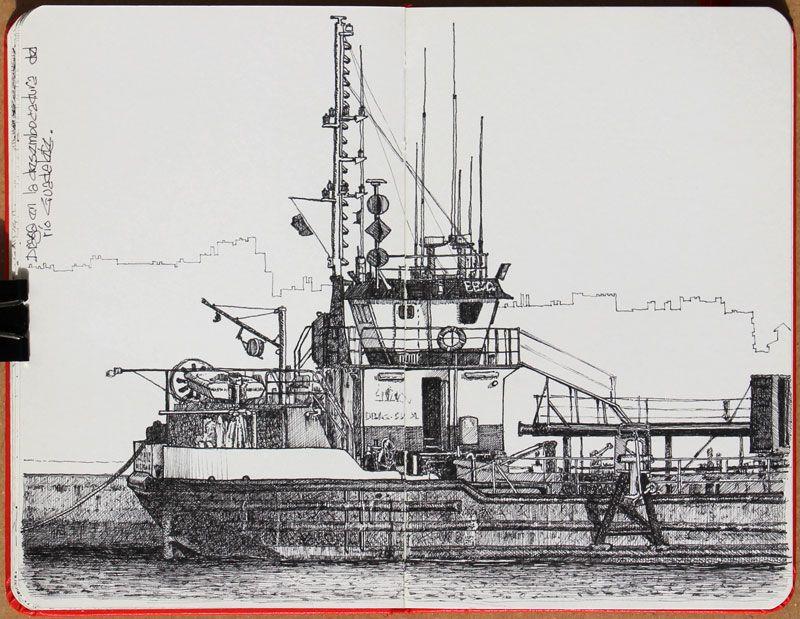 Sketch de draga by Luis Gómez Feliu