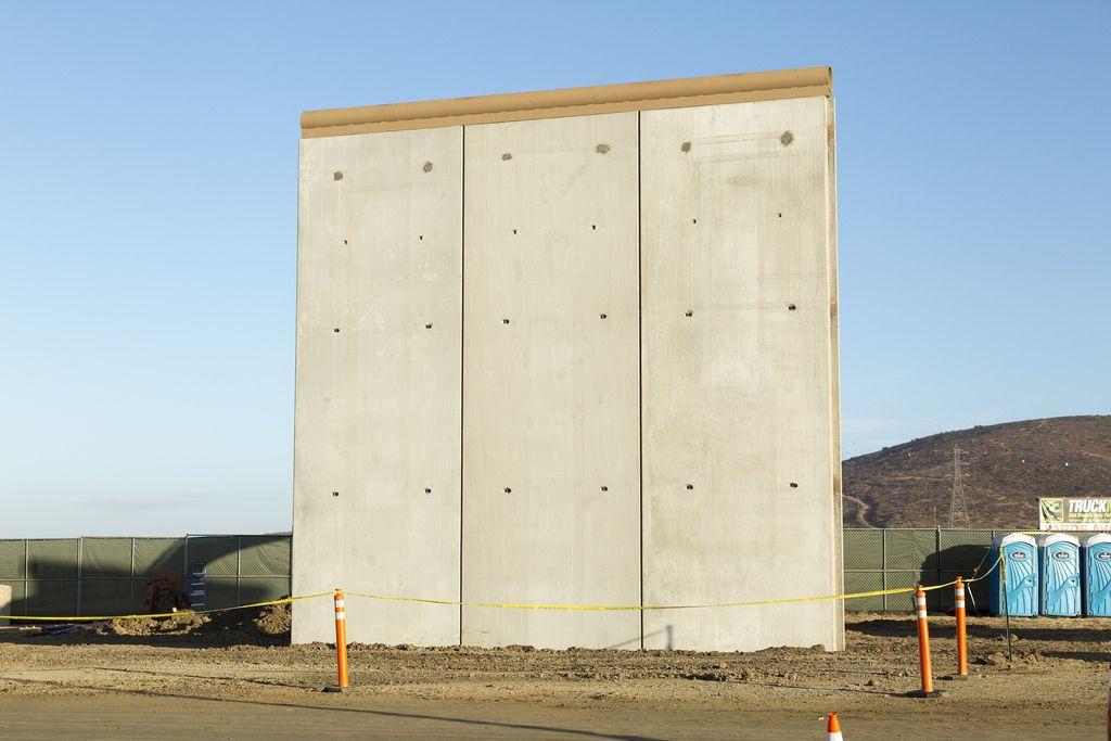 Border Wall Prototype Construction Border Wall Construction