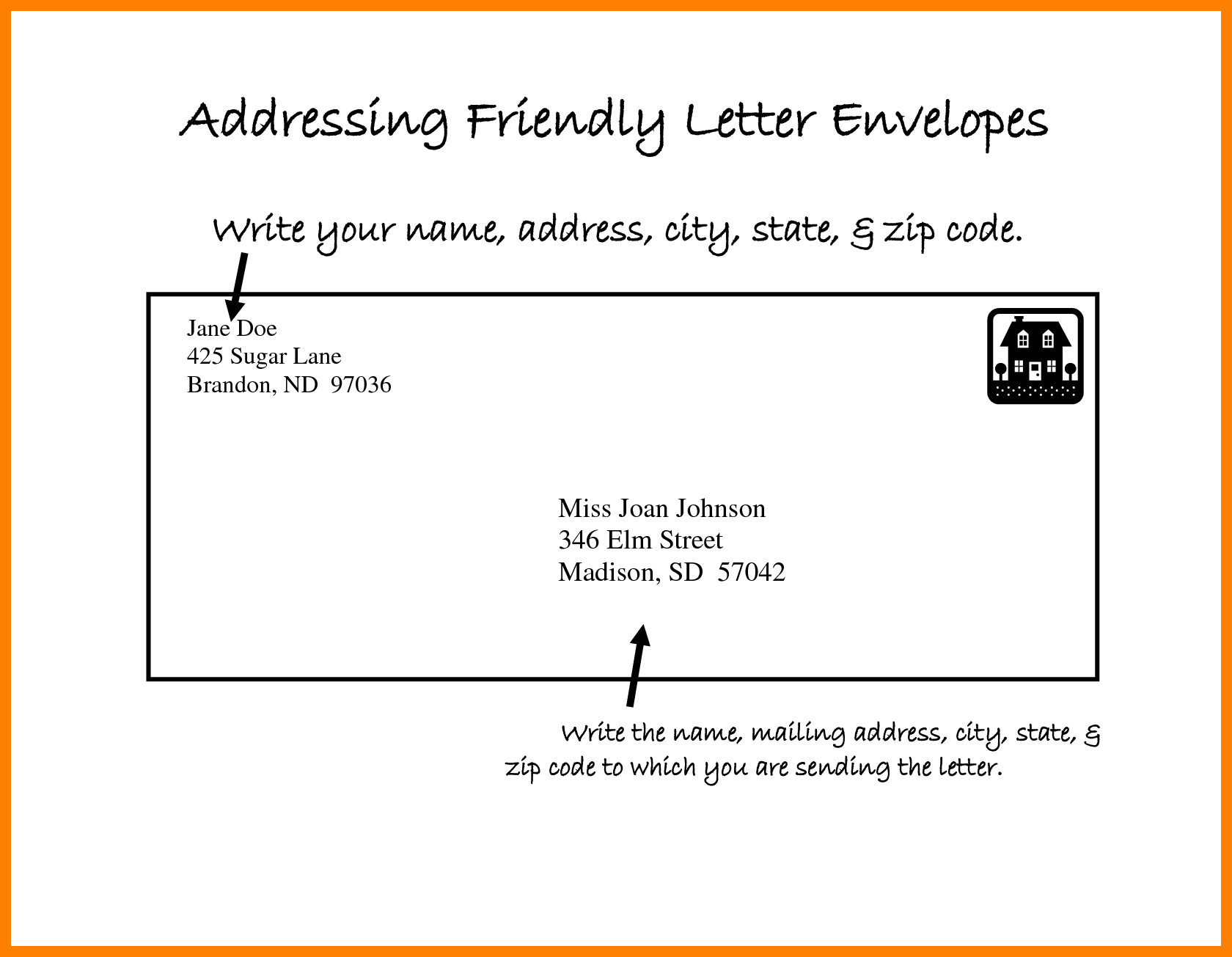 Format Envelope Letter Address For Resignation Cover Templates