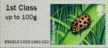 Post & Go : Ladybirds 1st Stamp (2016) Water Ladybird