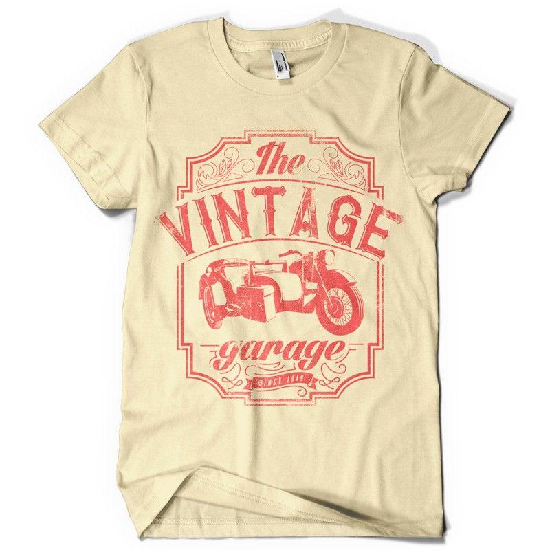 The Vintage Garage Shirt Designs T Shirt Vintage Shirt Design