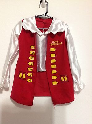The Wiggles Captain Feathersword Costume Shirt Toddler