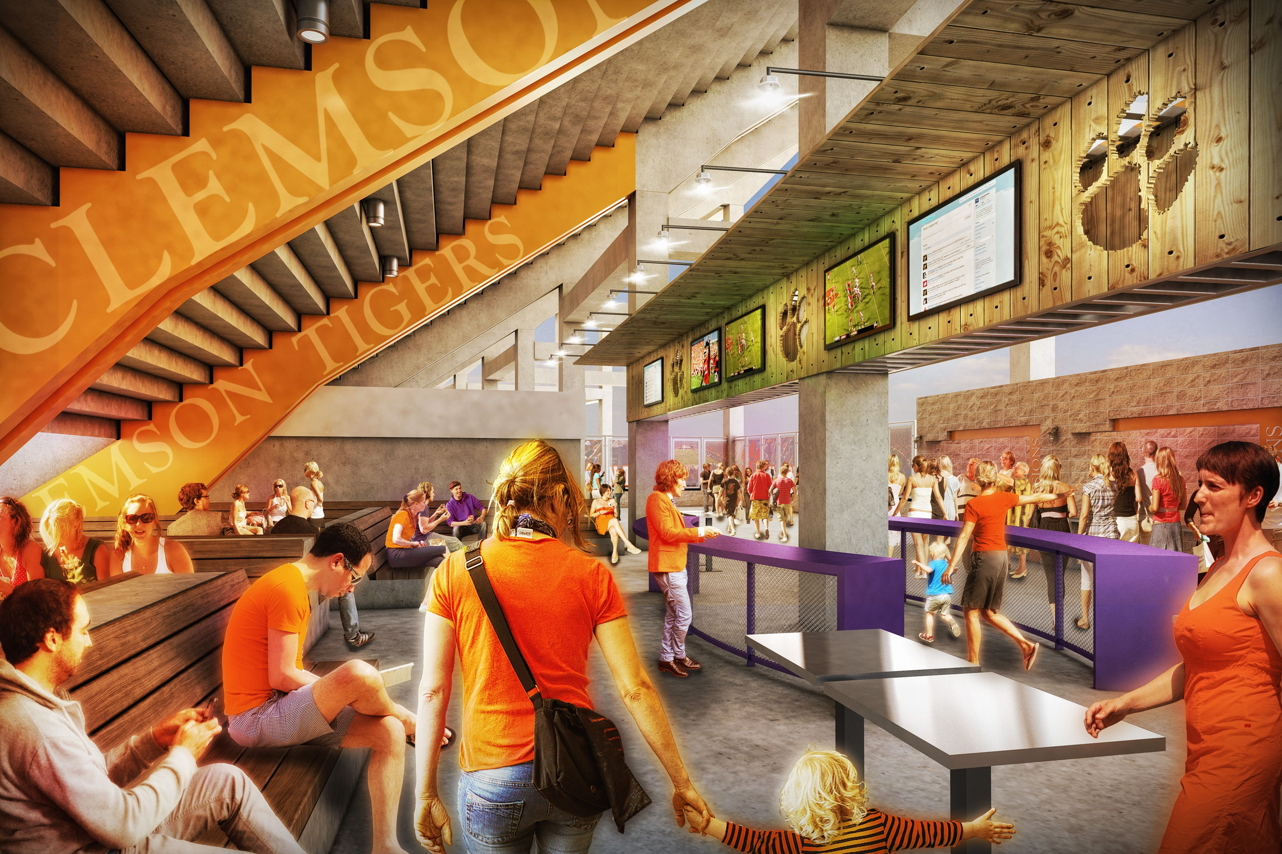 Clemson memorial stadium renovations clemson