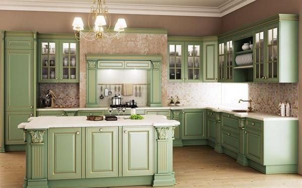 Kitchens - Colonial Kitchen - Google Search Colonial Times Pinterest - Antique  Green Cabinets Antique Furniture - Antique Green Kitchen Cabinets Antique Furniture