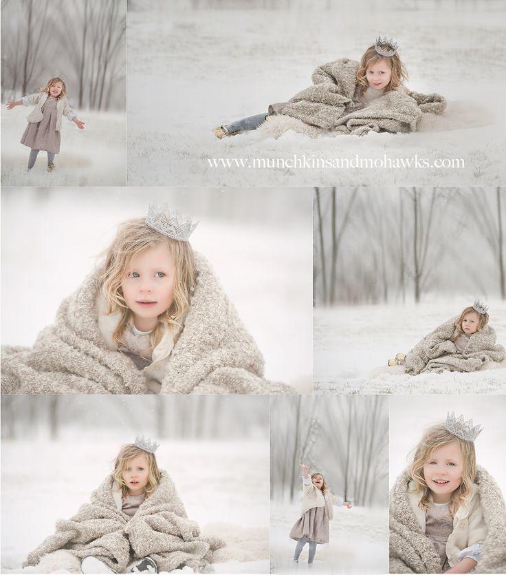 Snow Family Photo Shoot Ideas