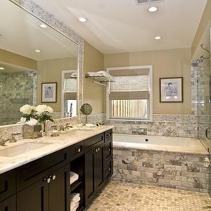 Bathroom Cabinets Espresso bathrooms - custom cabinets, espresso cabinets, espresso double