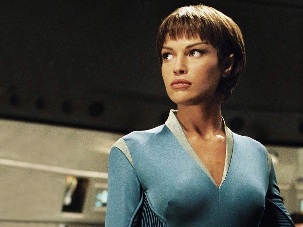 sub commander of science t pol unique and first vulcan in star trek enterprise