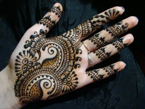Easy Mehndi Designs Hands : Step by mehendi designs for beginners mehndi