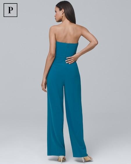 808f14340aba Women's Petite Convertible Split-Leg Jumpsuit by White House Black Market
