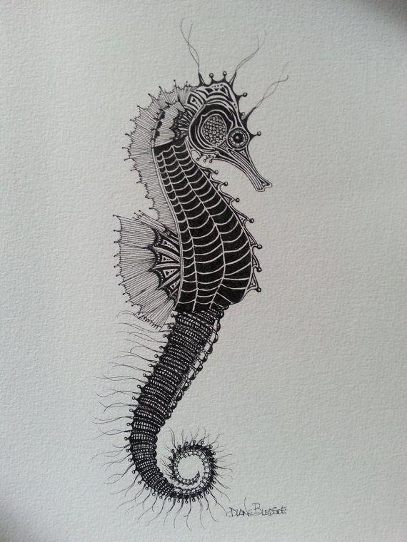 Caballito De Mar Tatuajes Caballito De Mar Caballito De Mar