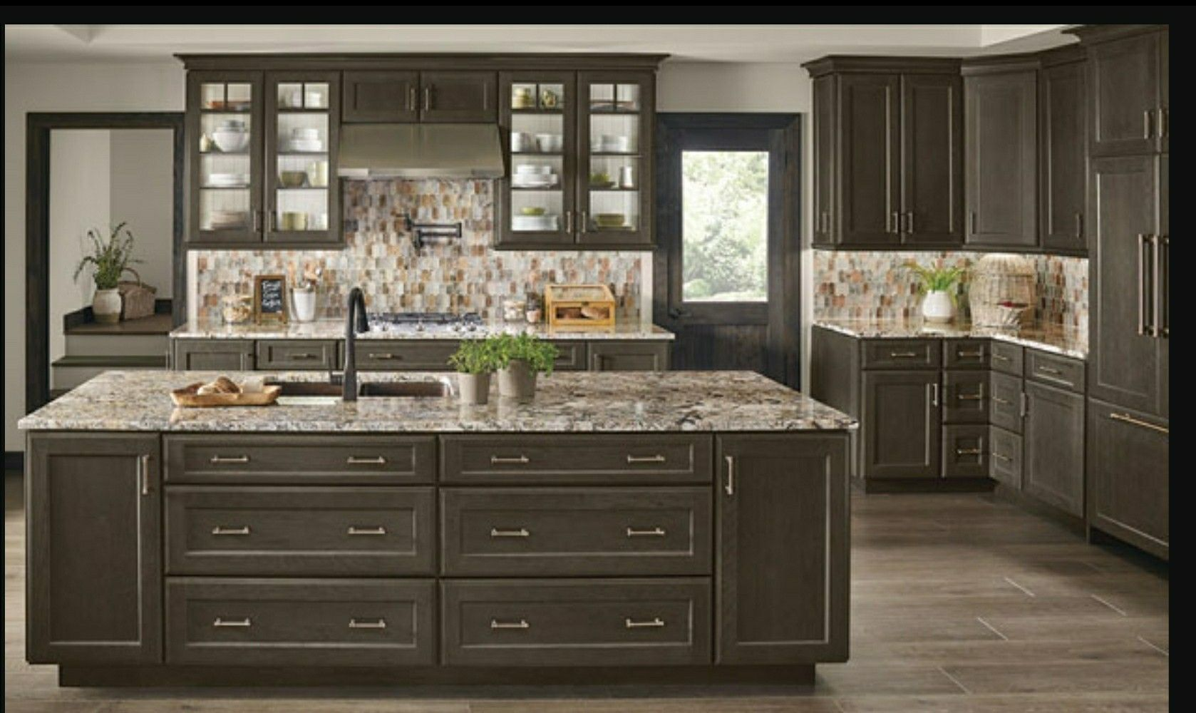 Kraftmaid Baltic cabinets in 2019 | Kitchen cabinets for ...