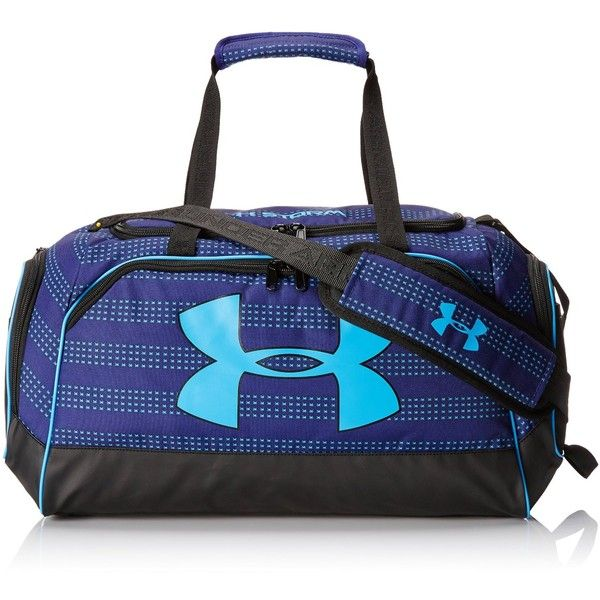Under Armour Women S Watch Me Duffel Bag 340 Sek Liked On Polyvore Featuring Bags Blue Sports Sport Duffle And