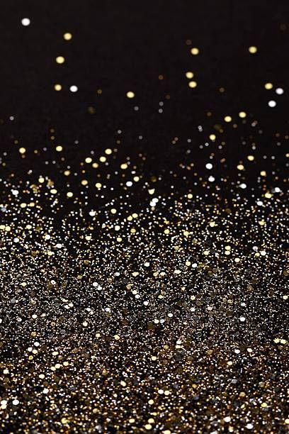 christmas new year gold silver glitter background holiday
