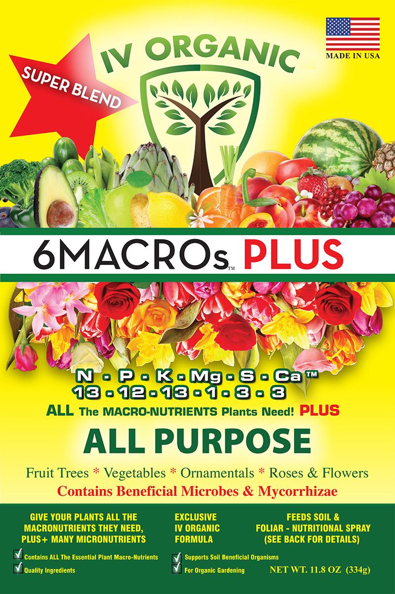 6macros Plus Fertilizer Super Blend Compost Tea Natural Plant Food Fertilizer
