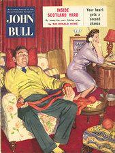 1950s Uk John Bull Magazine Cover Wiener Werkstatte