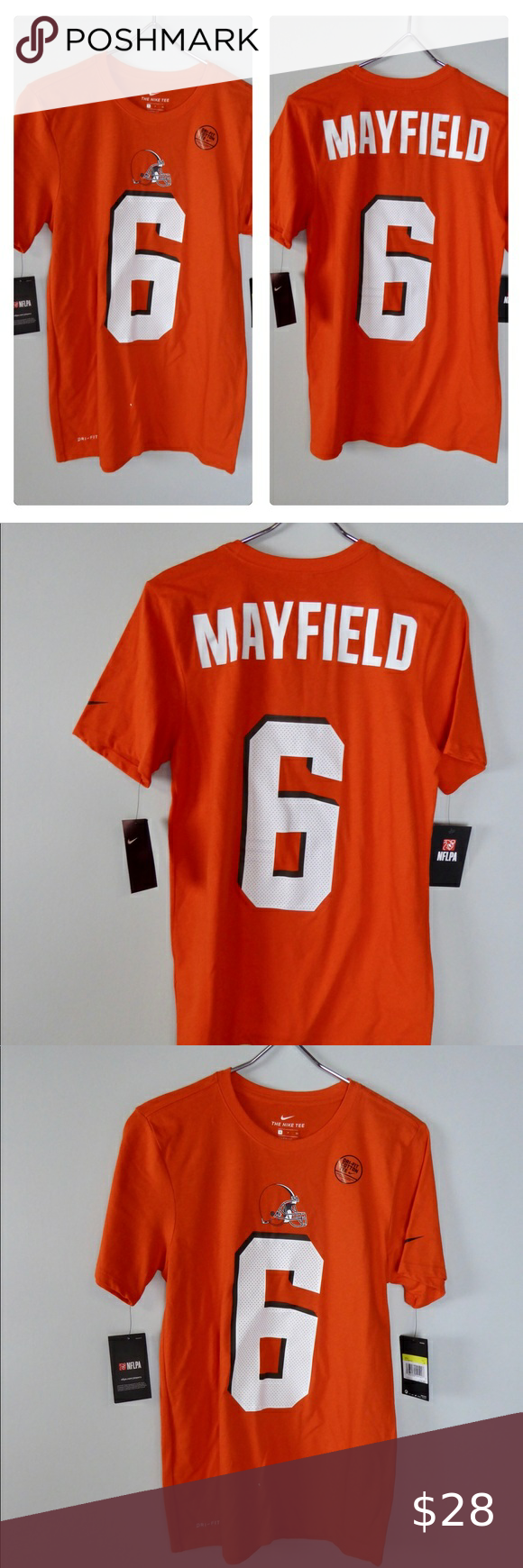 Cleveland Browns Baker Mayfield DriFit Nike Shirt in 2020