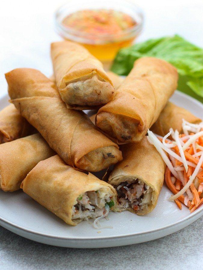 Vietnamese Egg Rolls | Recipe | Vietnamese egg rolls, Food ... Vietnamese Fried Spring Rolls Recipe