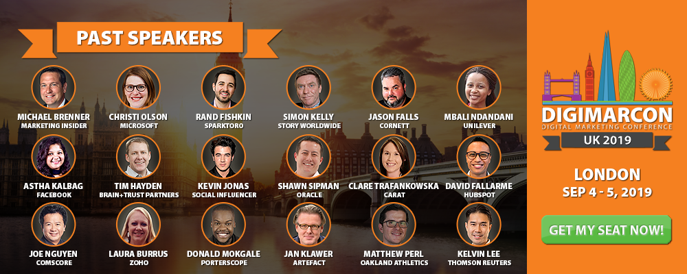 Learn more about DigiMarCon UK Digital Marketing Conference