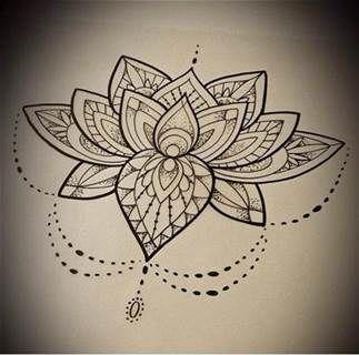 Lotus mandala design