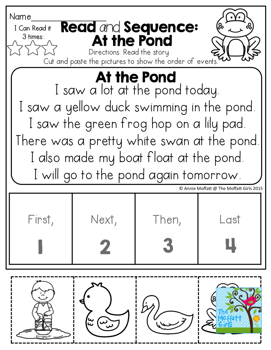 It is a photo of Hilaire Sequencing Pictures Printables