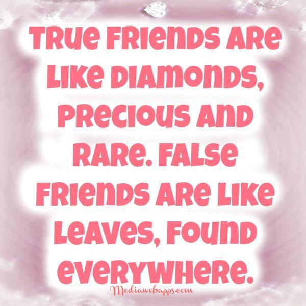 Untrue Friends Quotes Images False Friendship Quotes