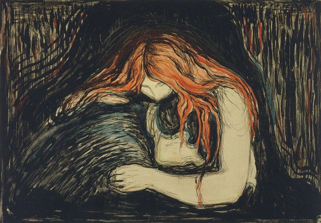 Edvard Munch - Amour et douleur | Peinture le cri, Pinacothèque, Peintre