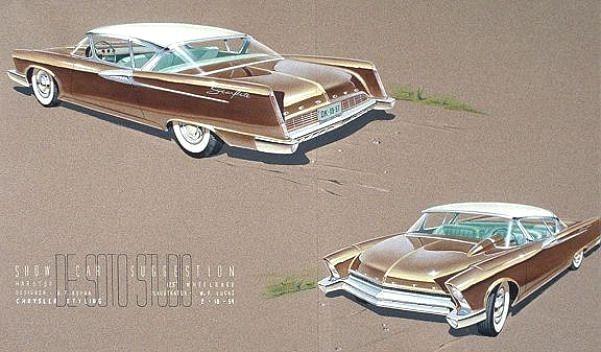 : Don Kopka Desoto 1954 #vintagecars #vintage #cars #sketch