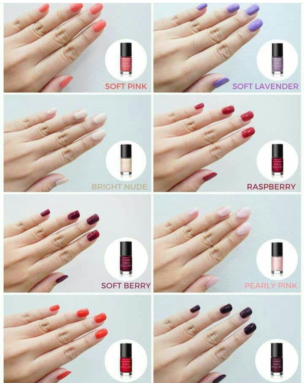 Nail Polish Colourbox Oriflame For Further Information Please Direct Message Me Kutek Kuku Perawatan Kuku Kutek