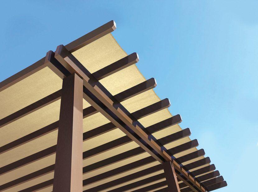 Pergola canvas roof | Pergola shade, Outdoor sun shade ... on Canvas Sun Shade Pergola id=44876