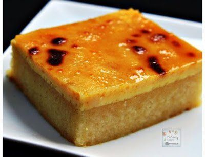 Cassava Cake With Creamy Custard Topping Recipe Panlasang Pinoy Recipes Recipe Cassava Cake Filipino Food Dessert Desserts