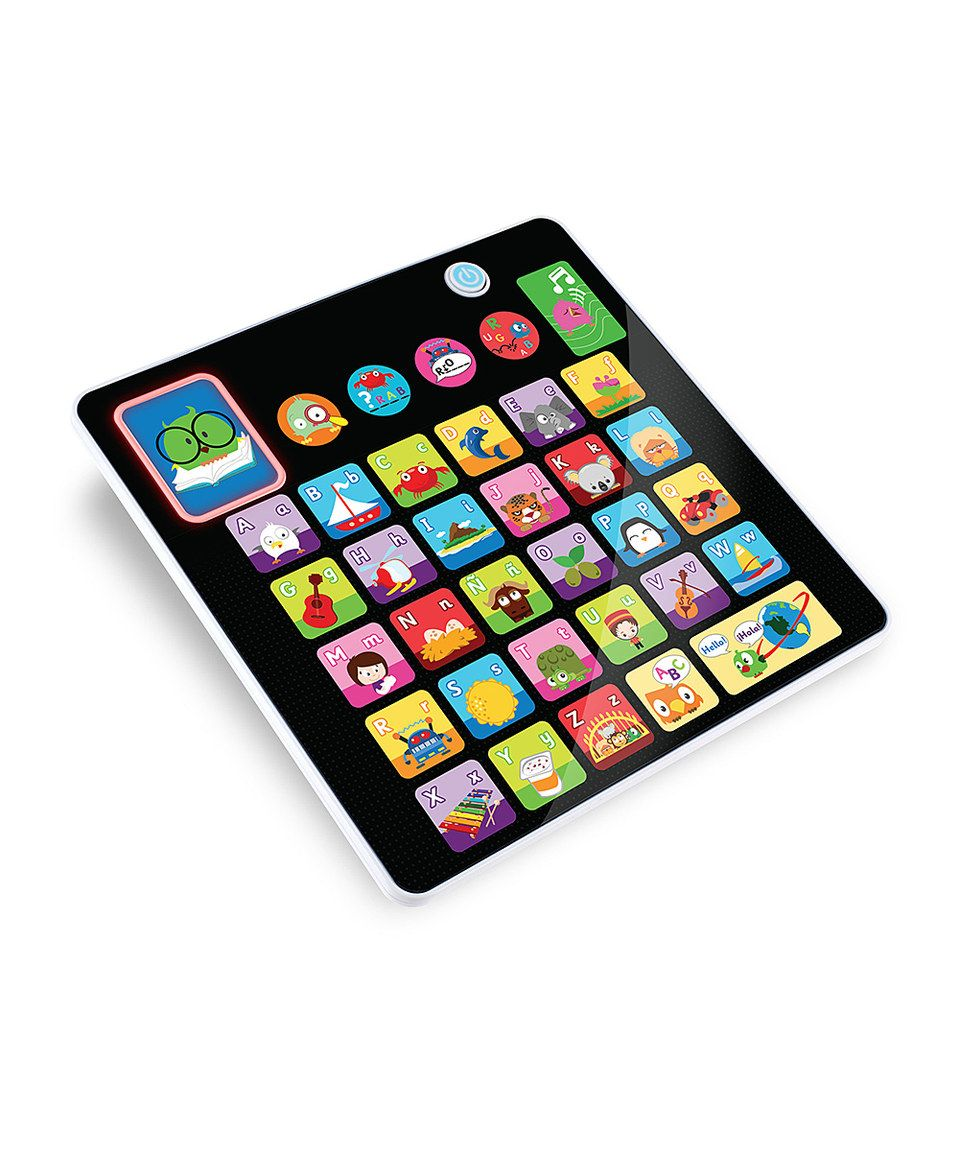 Another great find on #zulily! Smooth Touch Electronic Alphabet Tablet Toy by Kidz Delight #zulilyfinds