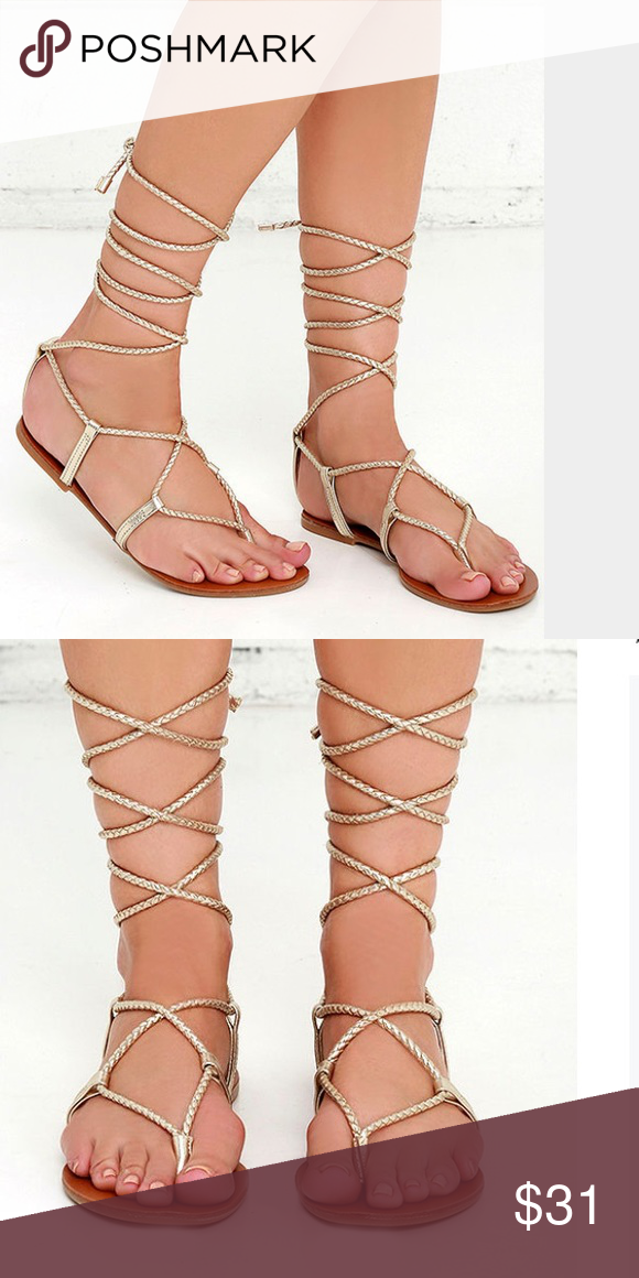 2f17d61cf45 Steve Madden Werkit Gladiator Sandal When you re strapped into the Steve  Madden Werkit Gold