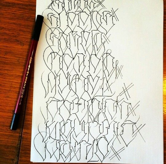 Lettering, Chicano Lettering