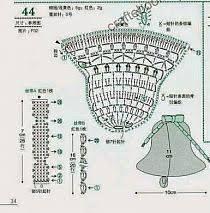 Risultati immagini per szydełkowe dzwoneczki schematy