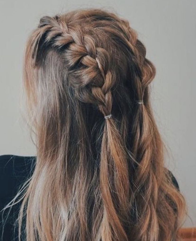 Pinterest Oliviastromberg Braids For Long Hair Hair Styles Hair Up Styles