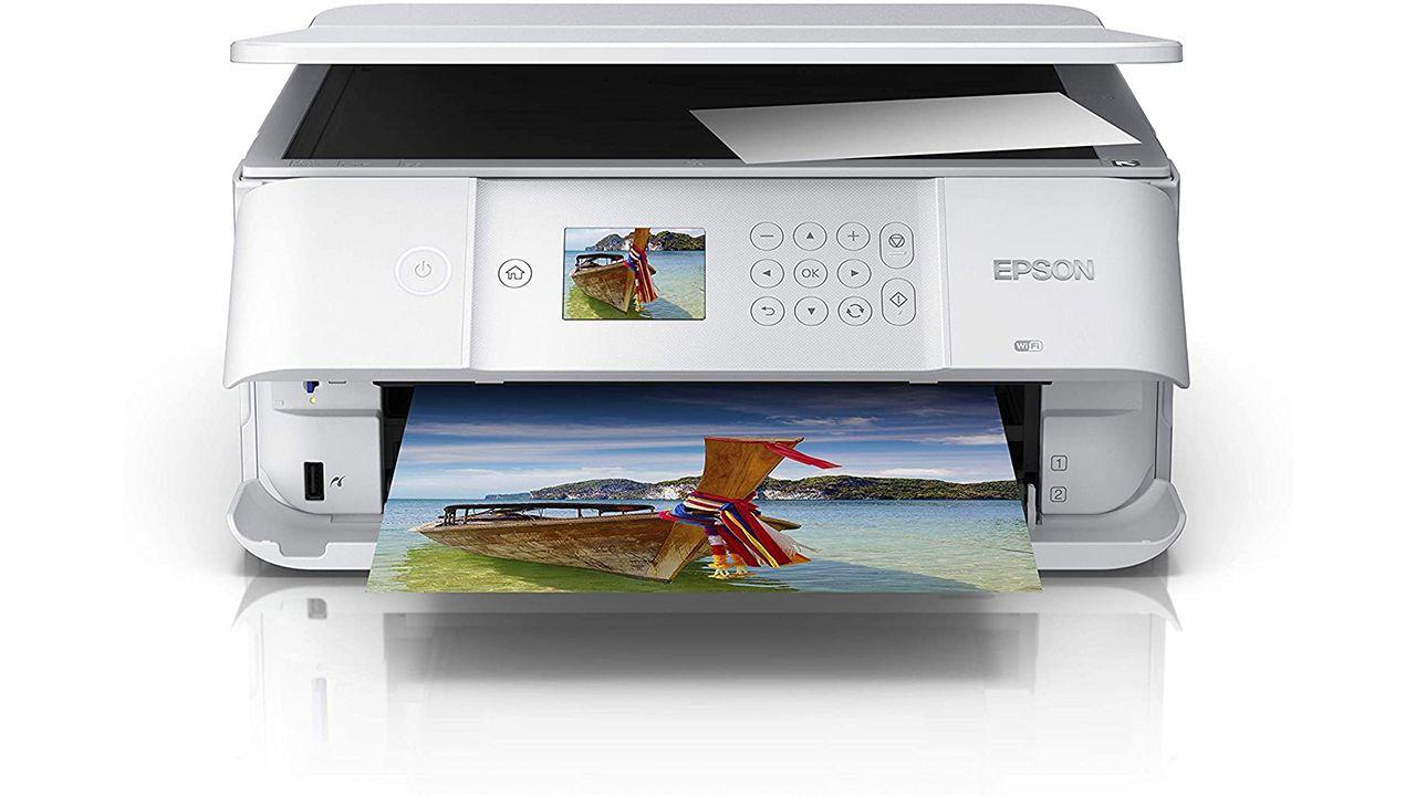 Epson Expression Premium Xp 6105 Imprime En Papel Y Foto A La Vez Bandeja De Papel Cartuchos De Tinta Impresora