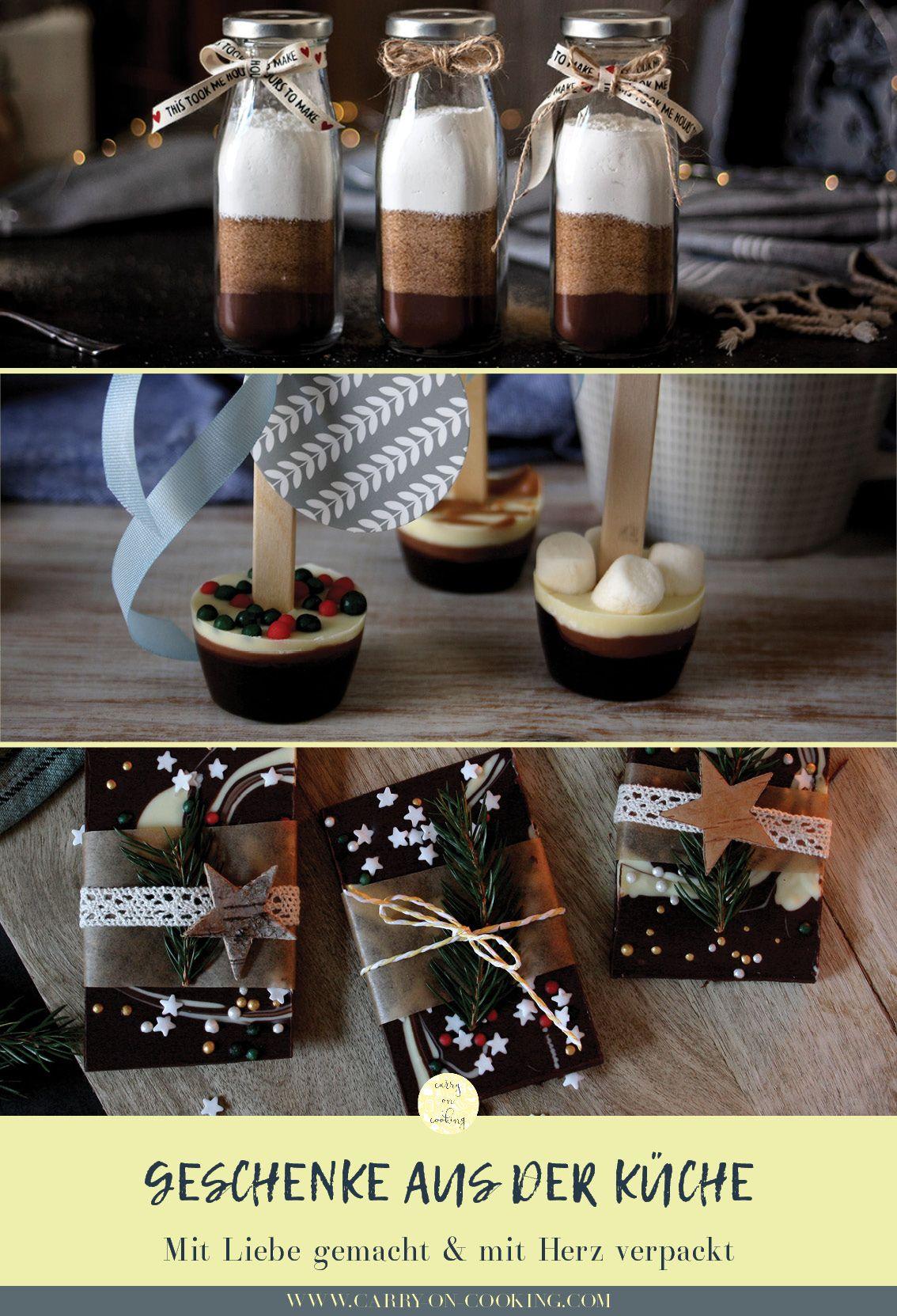 Geschenke aus der Küche - selbstgemacht & mit Liebe verpackt